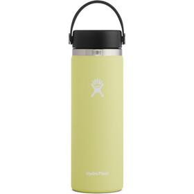 Hydro Flask Wide Mouth Bidón con Tapa Flex 591ml, amarillo